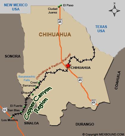 CHEPE map