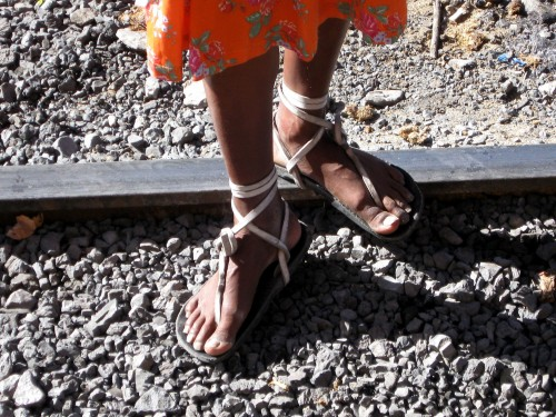 These Tarahumara feet were made for running...and thats just what they do!