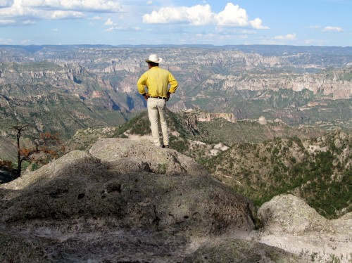 There are no views like these Copper Canyon vistas.