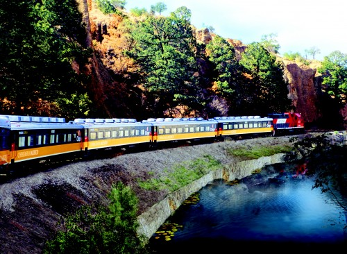 Our trips always include the Copper Canyon train...and remember, there is no better way to bring in the New Year than on the train in Copper Canyon.