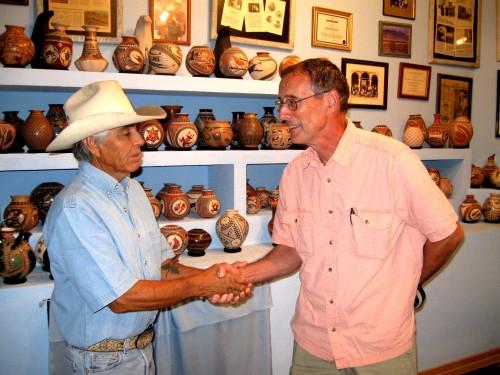 Mata Ortiz pottery gallery.