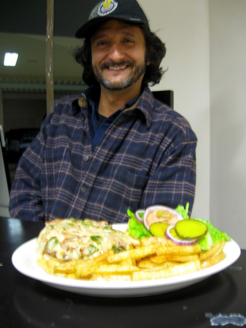 Paco at his restaurant in Casas Grandes