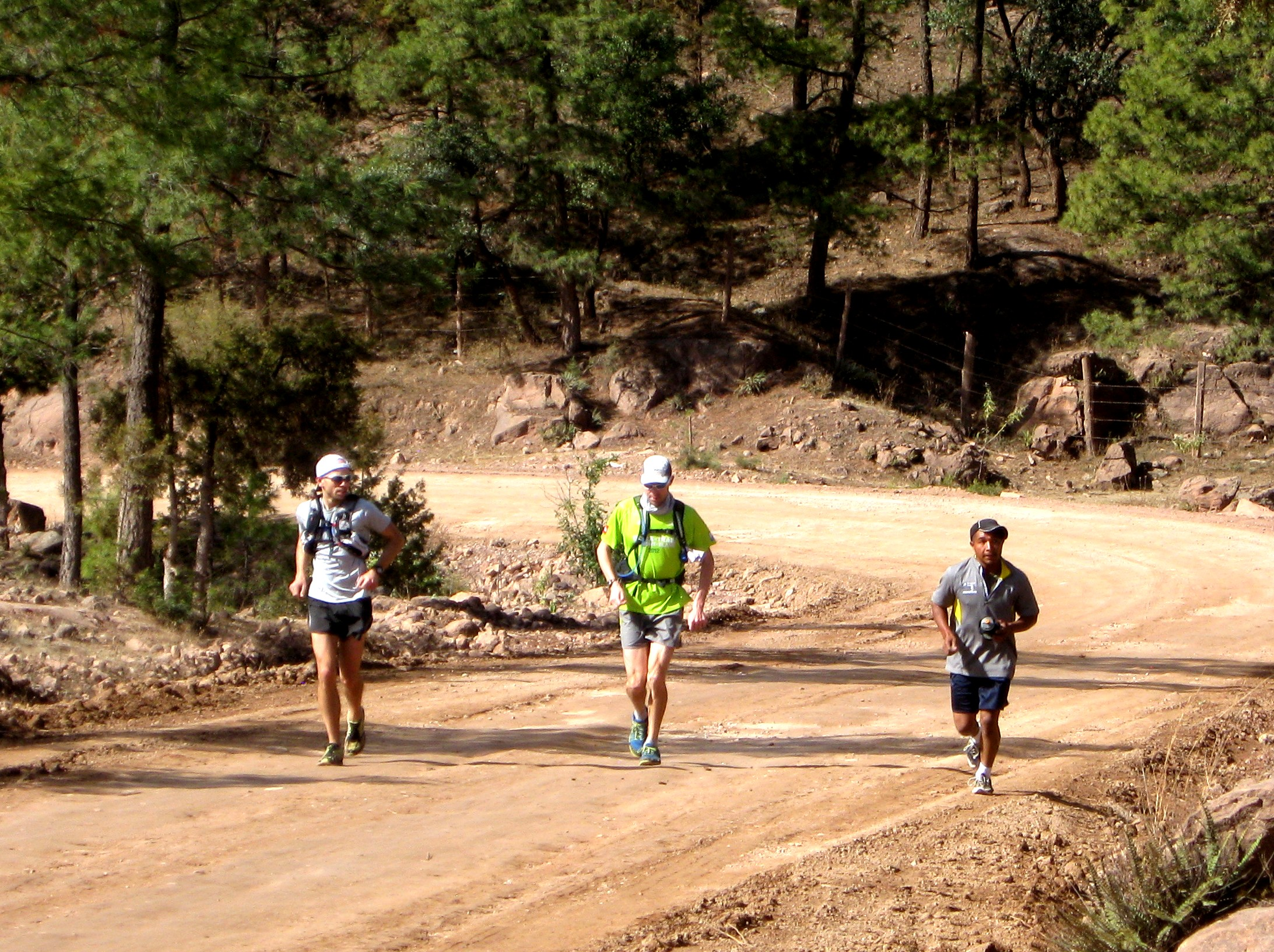 Running with the Tarahumara in Copper Canyon.