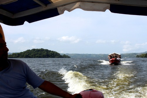 On the lake at Catemaco