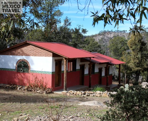 Our Copper Canyon trips often stay for a night or two at this lovely lodge tucked in the Sierra Madres near Gallego.